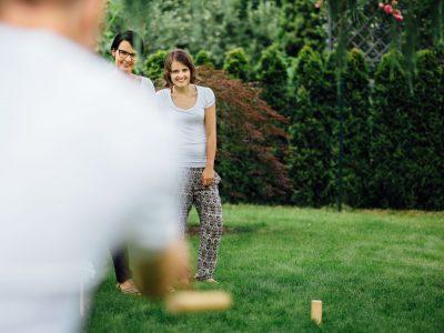 Sonntagnachmittag im Garten –Familienreportage aus Berlin