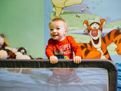 Bei Ilias zuhause: Familien-Foto-Homestory in Berlin